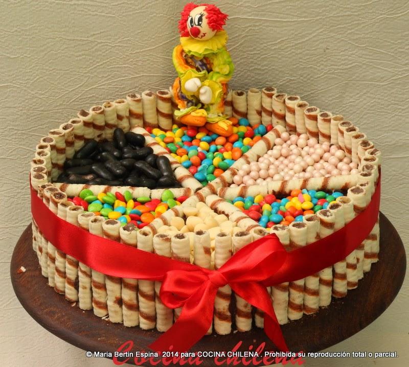Torta Para Ninos Cocina Chilena - Tortas-para-nios